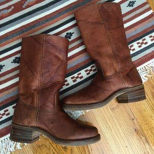 Women's Frye Campus Heeled Boot, Slip-On, 8
